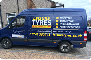 Mobile Tyre Fitting in Halifax, Bradford, Brighouse, Huddersfield and surrounding areas