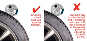 tyre tread safety